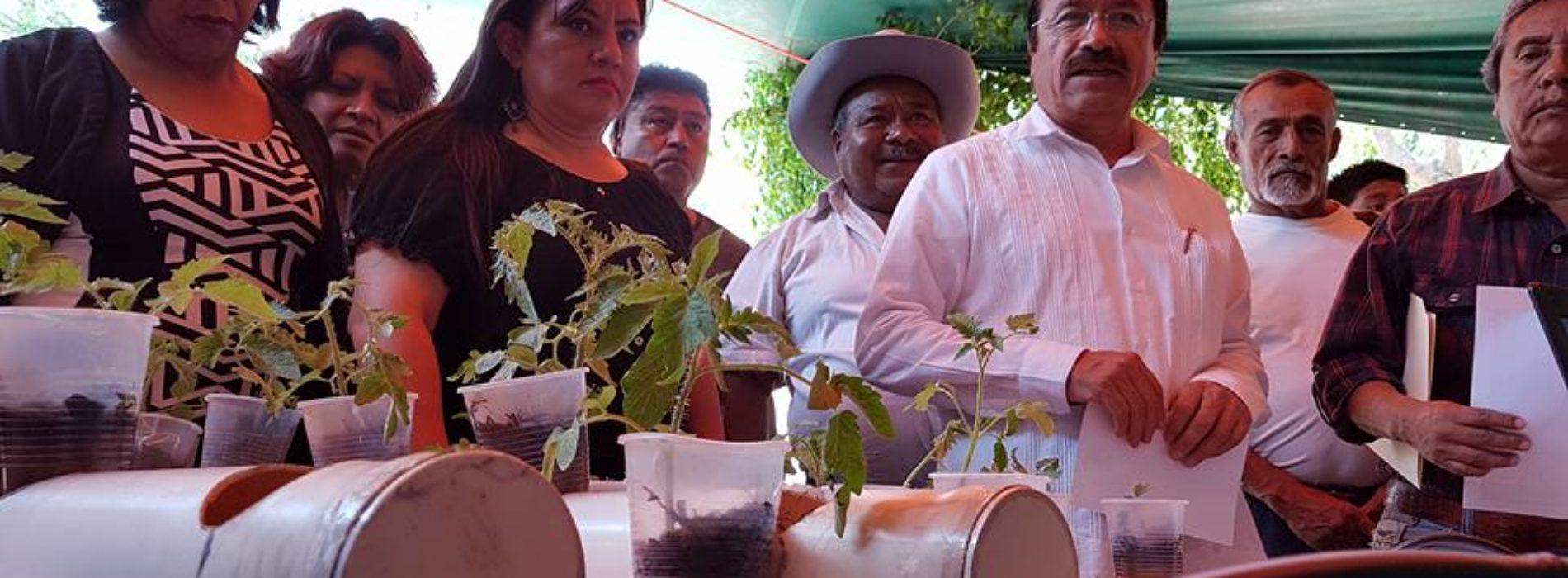 EL PRESIDENTE DE TLACOLULA, DOC. FAUSTO DÍAZ MONTES, INAUGURÓ LA PRIMERA EXPOSICIÓN DE ACOTECNIA.