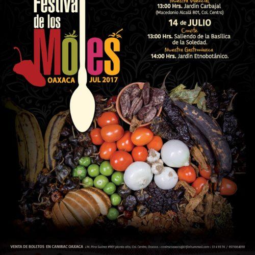 FESTIVAL DE LOS MOLES OAXACA, DEL 15 AL 31 DE JULIO 2017