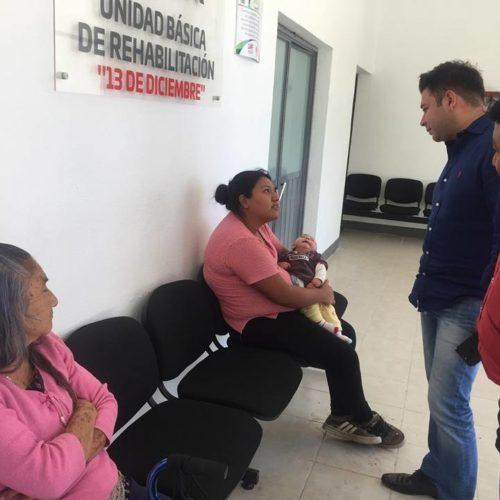 """BUEN FUNCIONAMIENTO DE LA UBR """"13 DE DICIEMBRE"""", PRESIDENTE DE SANTA LUCÍA DEL CAMINO, RAÚL CRUZ GONZÁLEZ"""