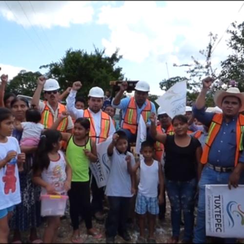 ME LLENA DE ORGULLO EL PODER BENEFICIAR A TANTAS FAMILIAS TUXTEPECANAS, PRESIDENTE MUNICIPAL FERNANDO  BAUTISTA DÁVILA
