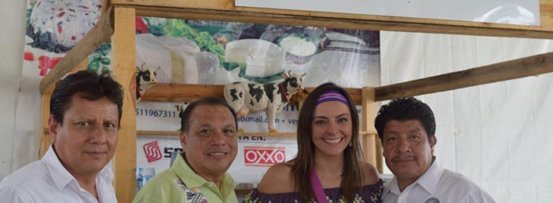 Exponen en ferias de Oaxaca productos de calidad: Sagarpa
