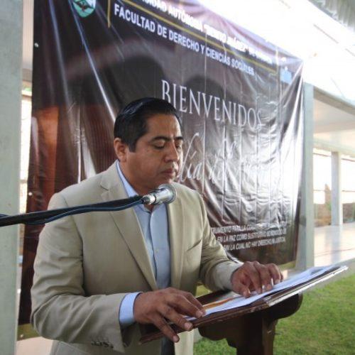 Reconoce rector de la Uabjo grandeza y calidad de los profesionales de la FDCS.