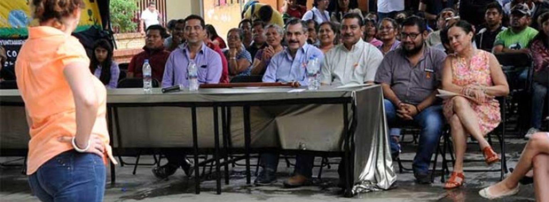 """Arrancan caravanas """"Juntos somos más"""" en San Felipe del Agua."""