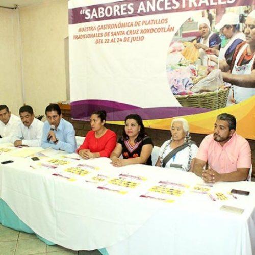Anuncia Alejandro López Jarquín primera muestra gastronómica en Xoxocotlán.