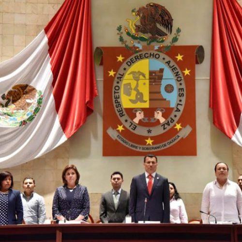 Inicia 63 Legislatura de Oaxaca Segundo Periodo Ordinario de Sesiones.