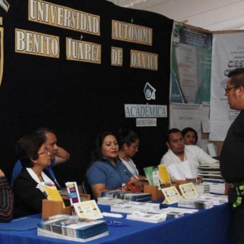 Muestra la UABJO oferta académica de 50 programas de posgrado.