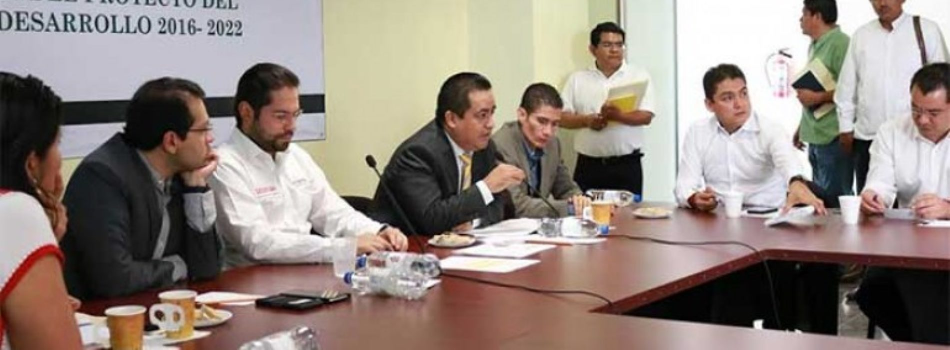 Encabeza diputado Toribio López análisis del Plan Estatal de Desarrollo.