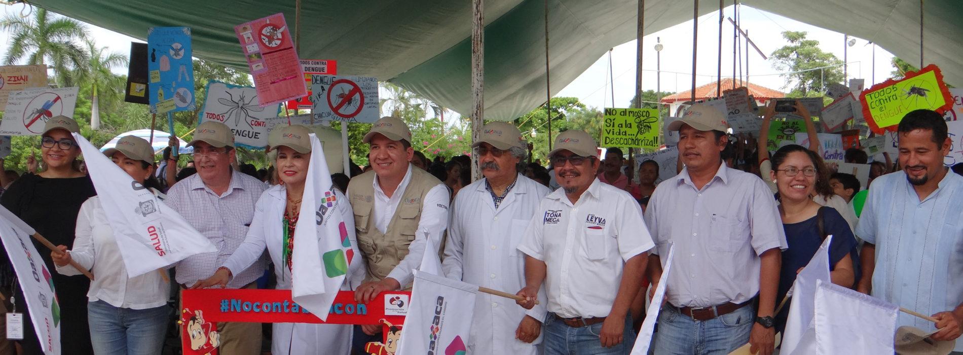 SEGUNDA JORNADA NACIONAL DE LA LUCHA CONTRA EL DENGUE, ZICA Y CHIKUNGUNYA EN PUERTO ESCONDIDO