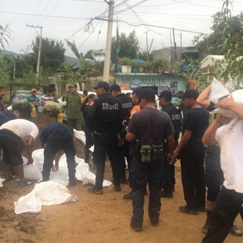 Aplican Plan DN-III-E en zonas dañadas de Santa Cruz Xoxocotlán