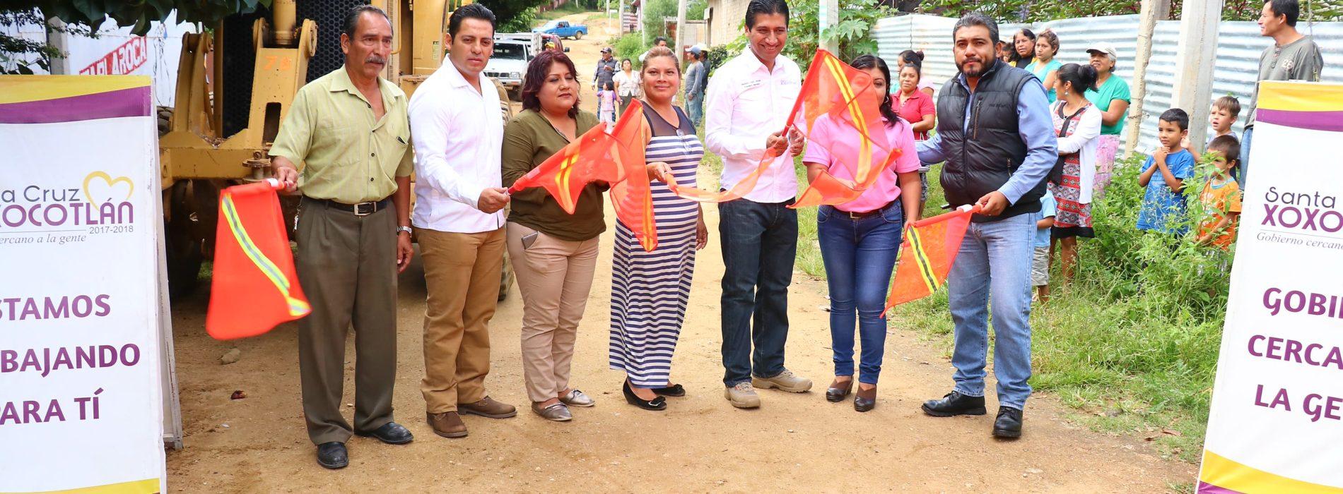 Generan más acciones de desarrollo urbano en Xoxocotlán