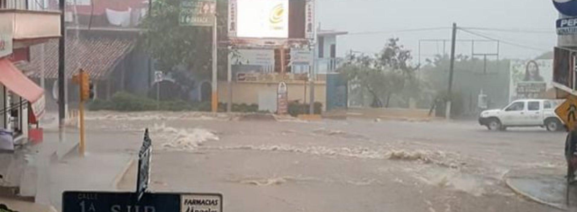 Activan operativo por daños en Puerto Escondido