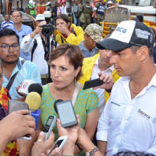 Gobernador de Oaxaca y Gobierno Federal dan banderazo a las obras de reconstrucción en el Istmo