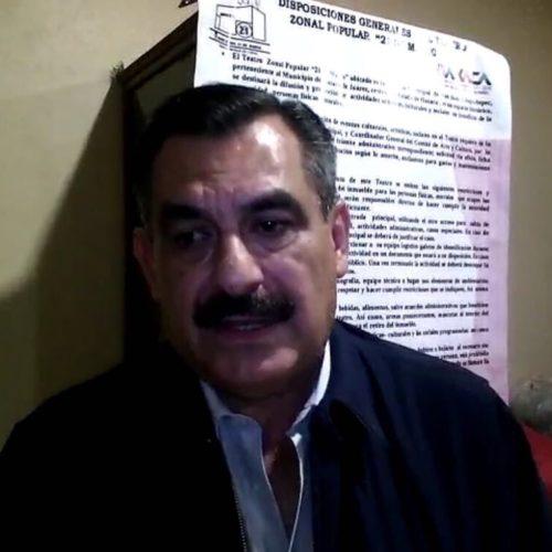 Hernández fraguas, afirmó que continúan atendiendo a los afectados por las lluvias y sismo en las 13 agencias del municipio capitalino.