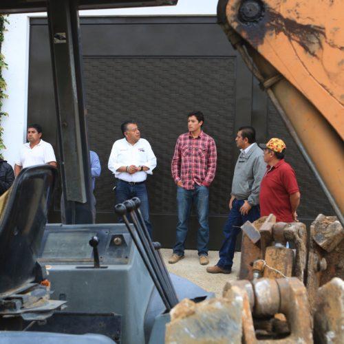 Municipio Capitalino y SAPAO recorren agencias  para atender infraestructura hidráulica