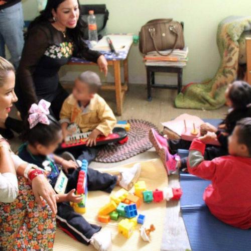 Visita Ivette Morán Centros de Atención Múltiple 52 y 58
