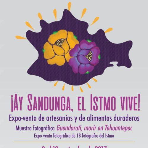 Realizarán Expo-Venta ¡Ay Sandunga, el Istmo Vive! en la Ciudad de México