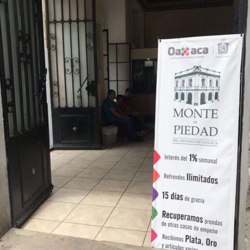 Aumentan préstamos en el Monte de Piedad por regreso a clases