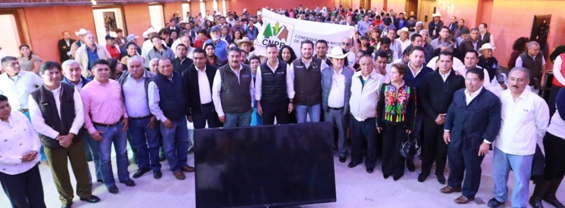 Brinda Gobierno de Oaxaca importante impulso al desarrollo agropecuario de la entidad: AMH