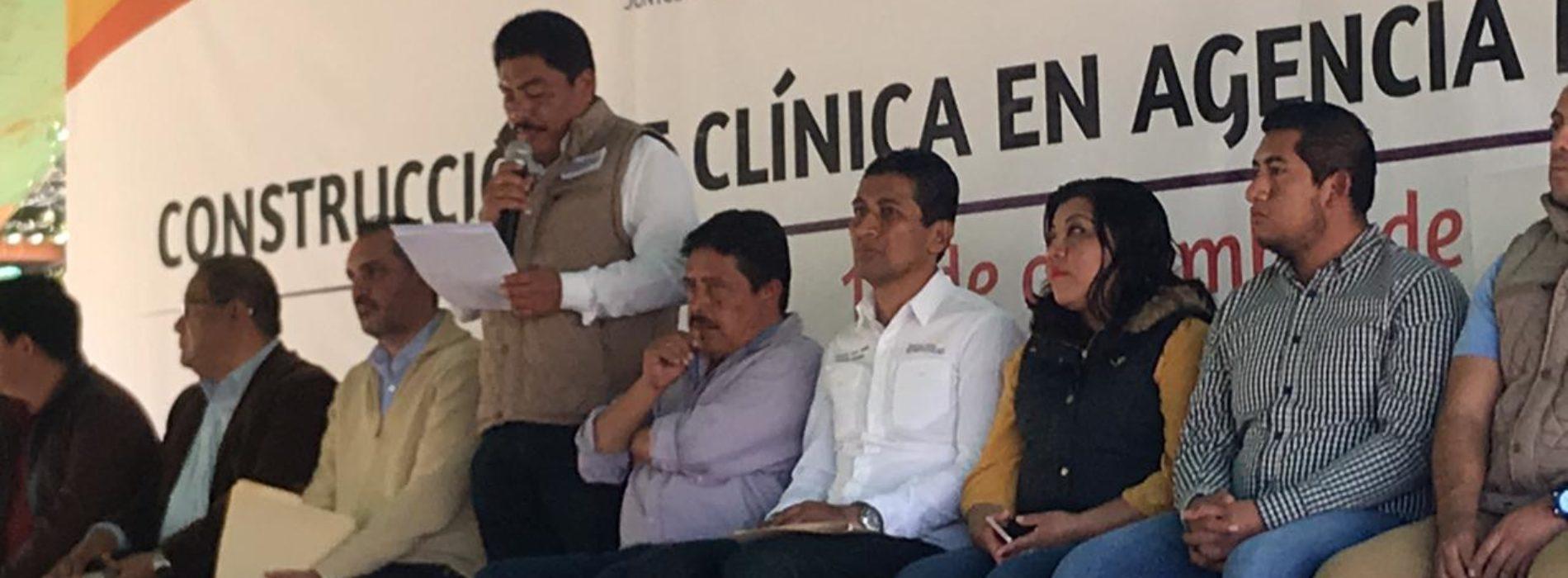 Inicia construcción de Centro de Salud en Nazareno Xoxo.